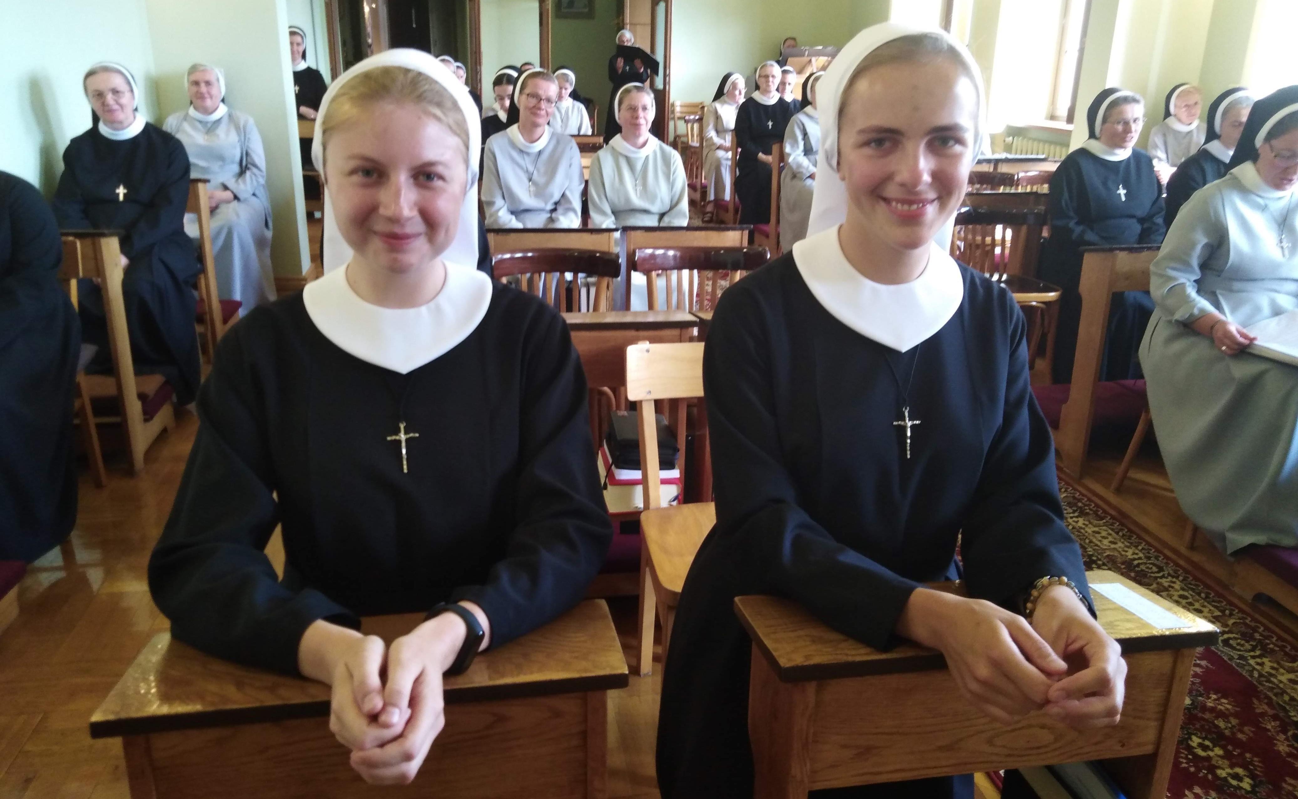 Obłóczyny naszych sióstr postulantek !!!