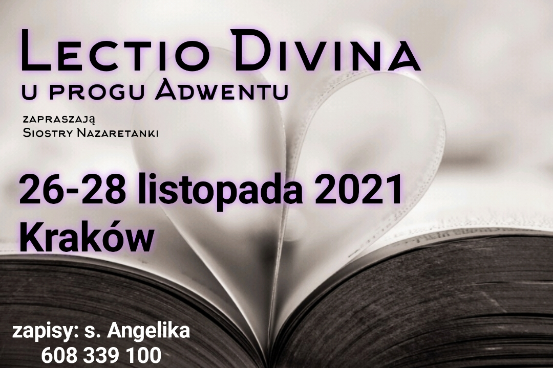 Lectio Divina u progu Adwentu !!!