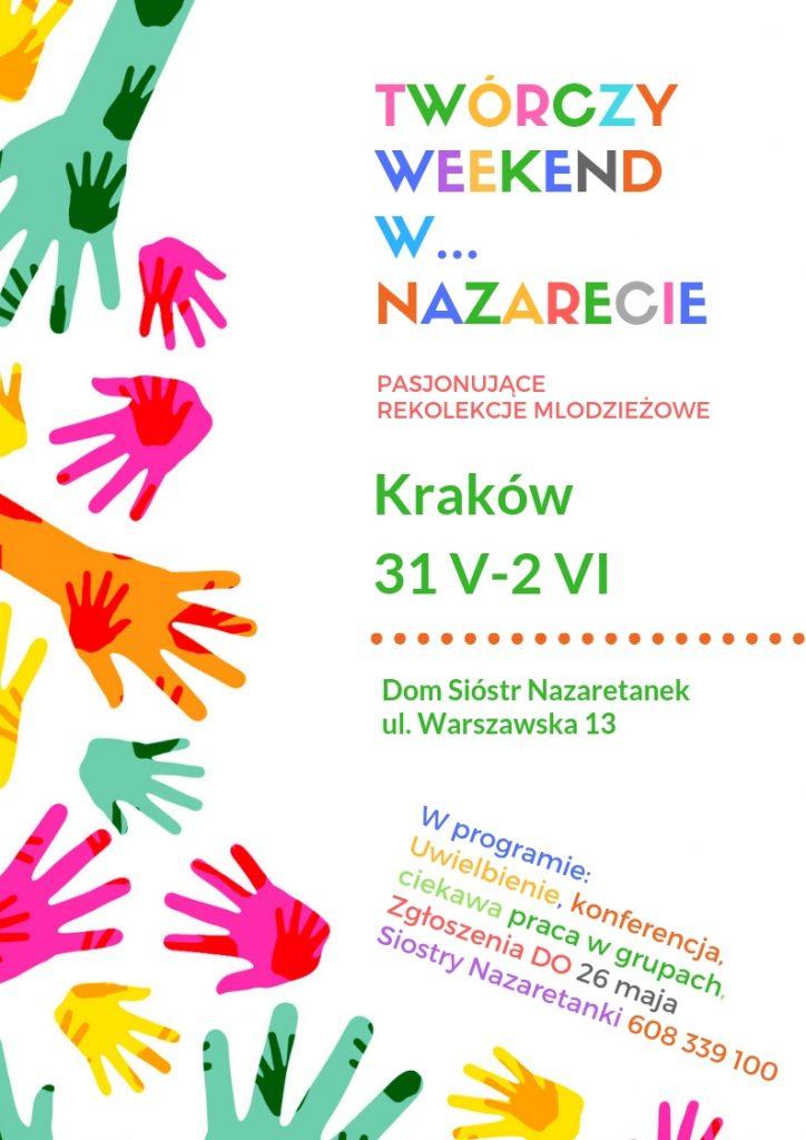 Twórczy weekend w Nazarecie