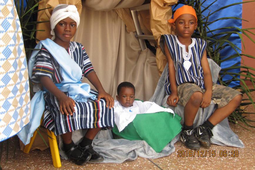 Ghanijska Rodzina Najświętsza Rodzina